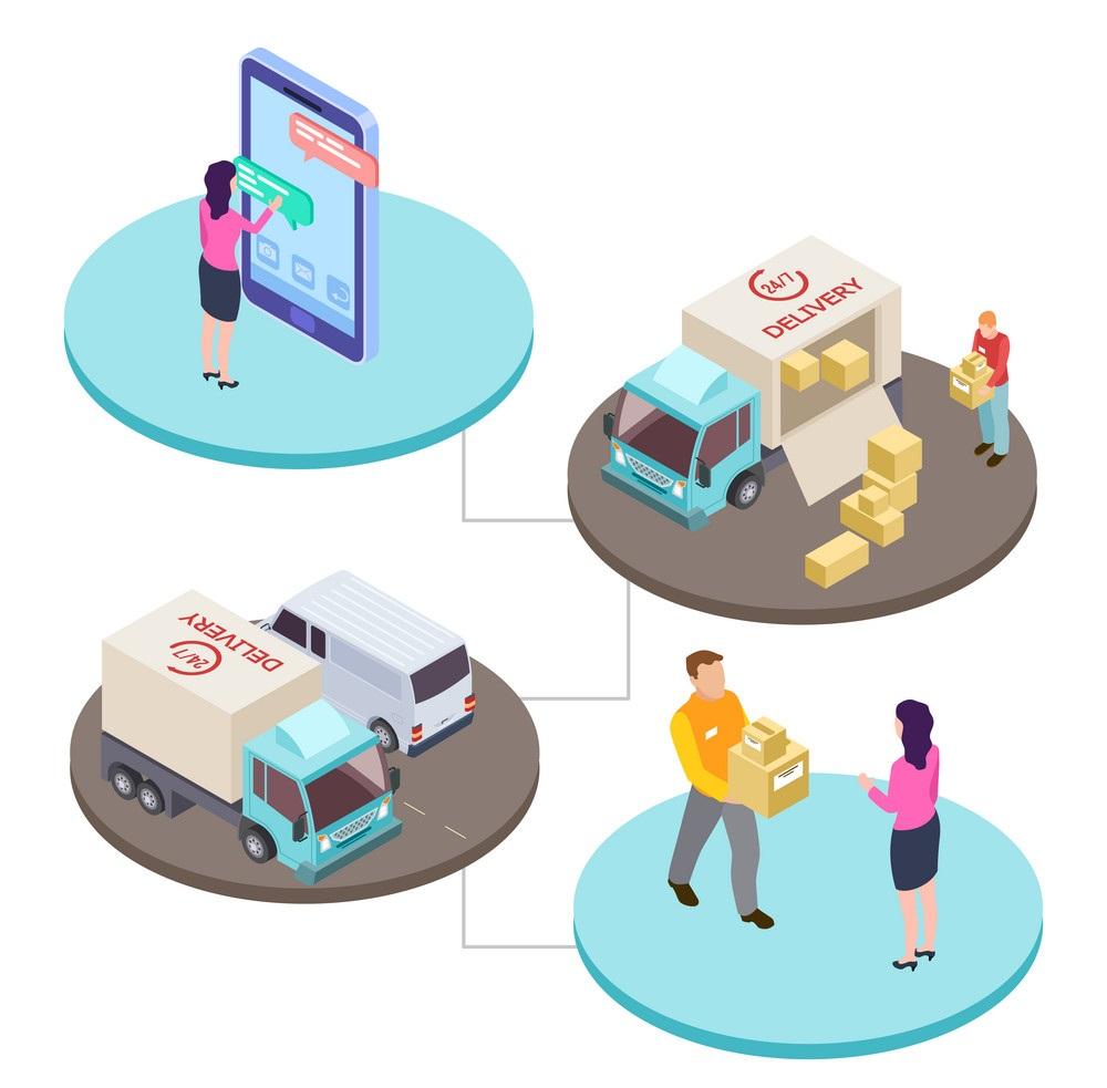 افزایش روشهای ارسال کالا در فروشگاه آنلاین