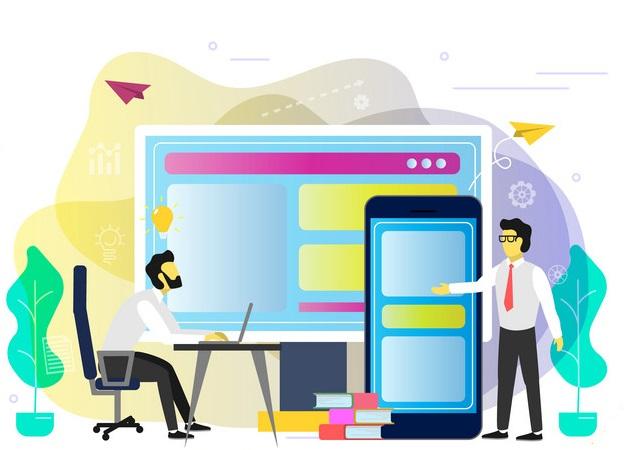 طراحی واکنشگرا برای وب سایت فروش آنلاین فایل
