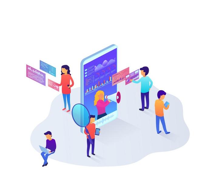 نقش شبکههای اجتماعی در طراحی وب سایت فست فود