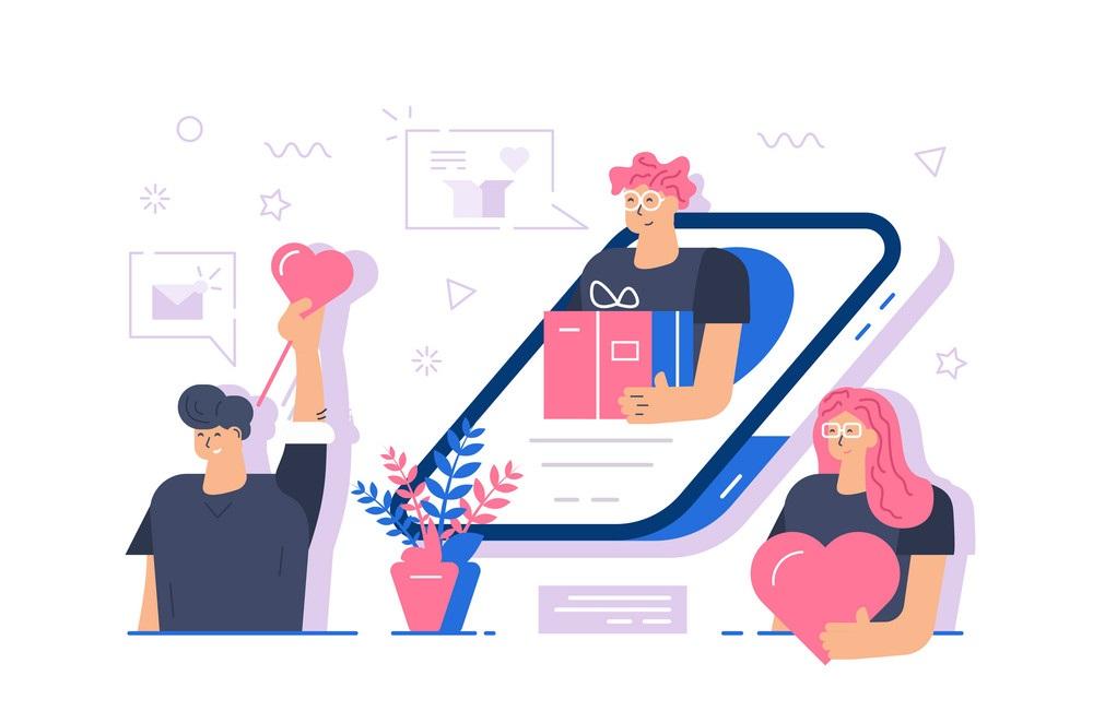 جایگاه شبکههای اجتماعی در طراحی وب سایت گل فروشی