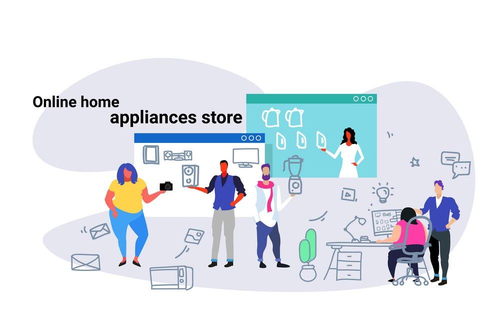 امکان رشد و گسترش کسب و کار با سایت فروش لوازم خانگی