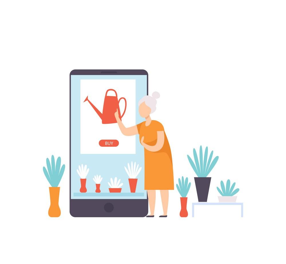 ویژگیهای طراحی وب سایت گل فروشی