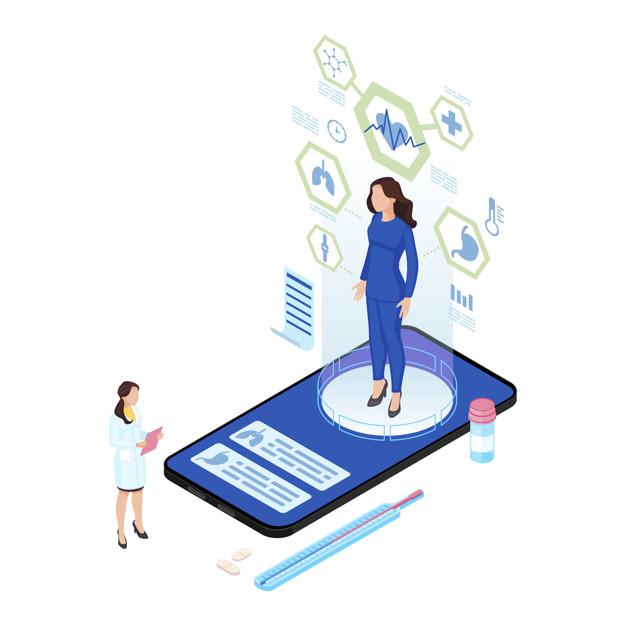 طراحی اپلیکیشن پزشکی در حوزههای مختلف
