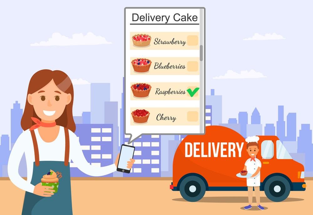 نرم افزار سفارش آنلاین و دلیوری شیرینی